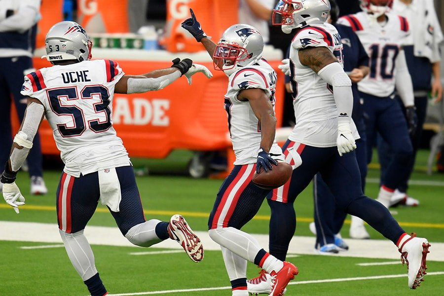 J.C. Jackson has a new injury on top of another on the Patriots injury report. (Harry How/Getty Images)