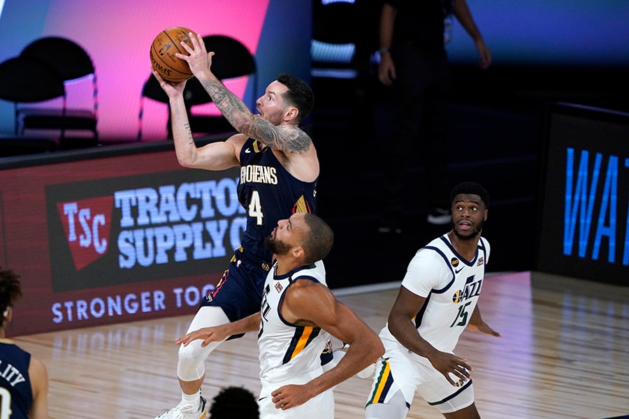 Danny Ainge and the Celtics have been linked to JJ Redick throughout the sharpshooting guard's career. (Ashley Landis/Pool Photo via USA TODAY)