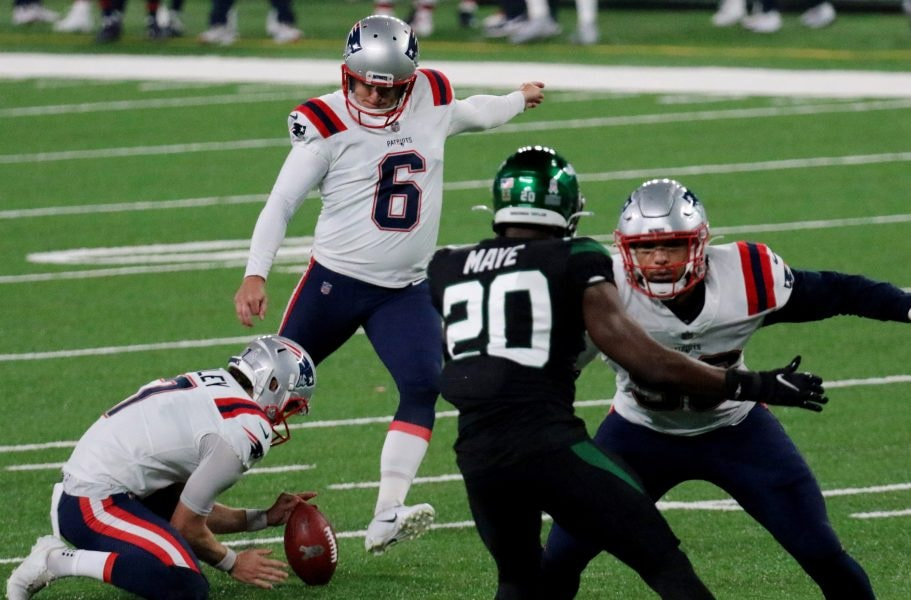 One of the most scandalous accusations against Manish Mehta involved Patriots kicker Nick Folk. (Kevin R. Wexler/NorthJersey.com via USA TODAY)