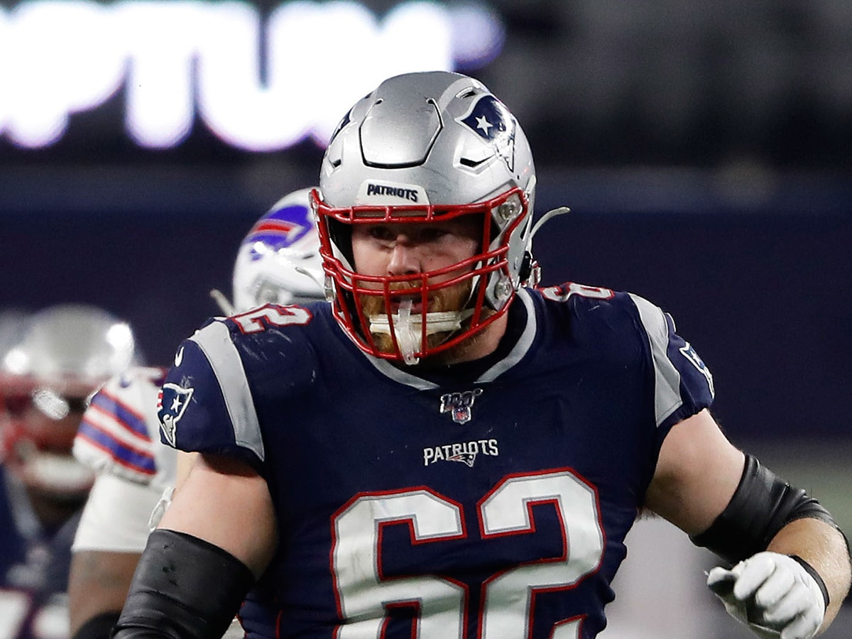 Patriots left guard Joe Thuney played the 2020 season under the NFL franchise tag, which is historically unpopular among players. (Winslow Townson-USA TODAY Sports)